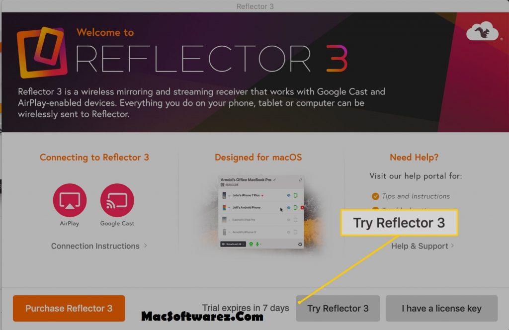 Reflector 3 Serial key
