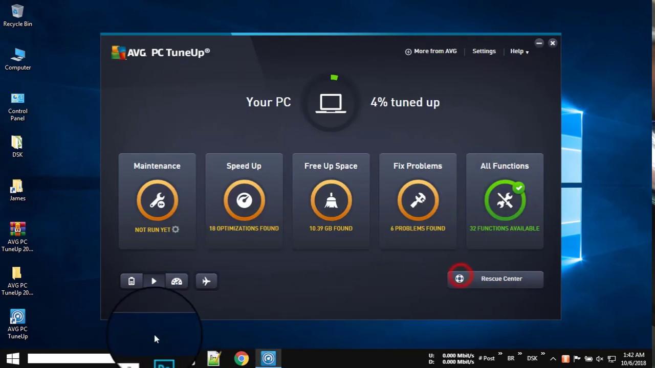 AVG PC TuneUp 2021 Crack License Key