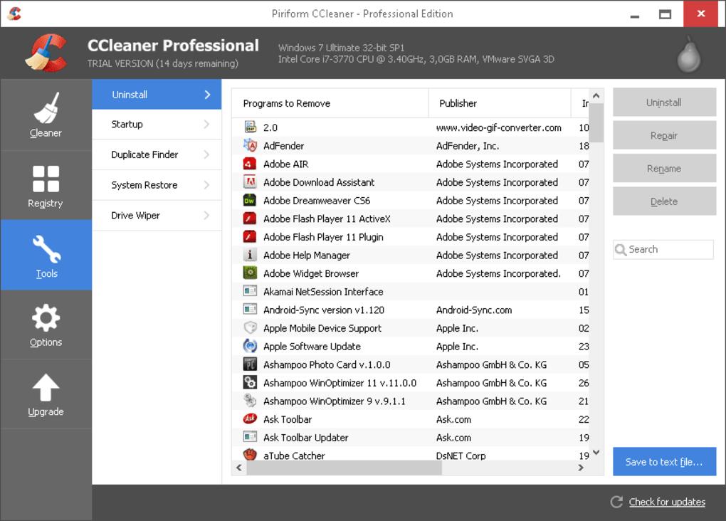 CCleaner Pro Crack License Key