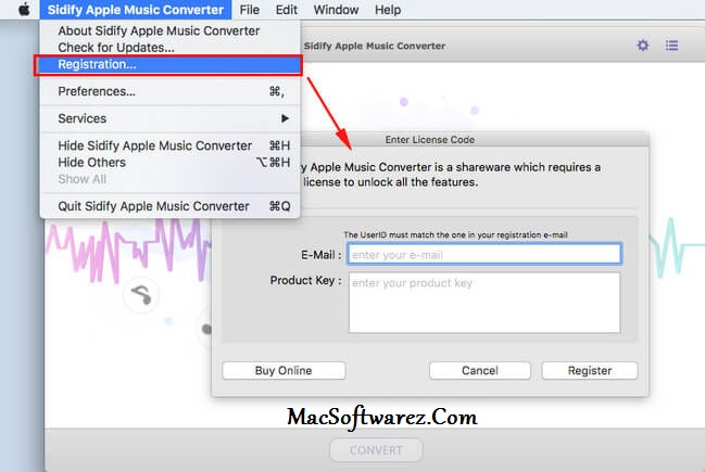 Sidify Music Converter Serial Key