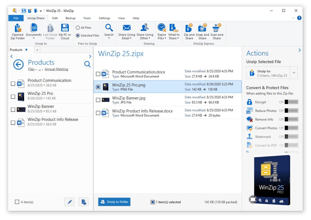 WinZip Pro 25 Crack License Key