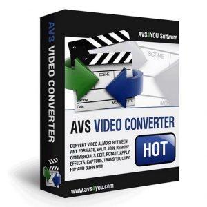 AVS Video Converter 12.1.2.669 Crack Free Download