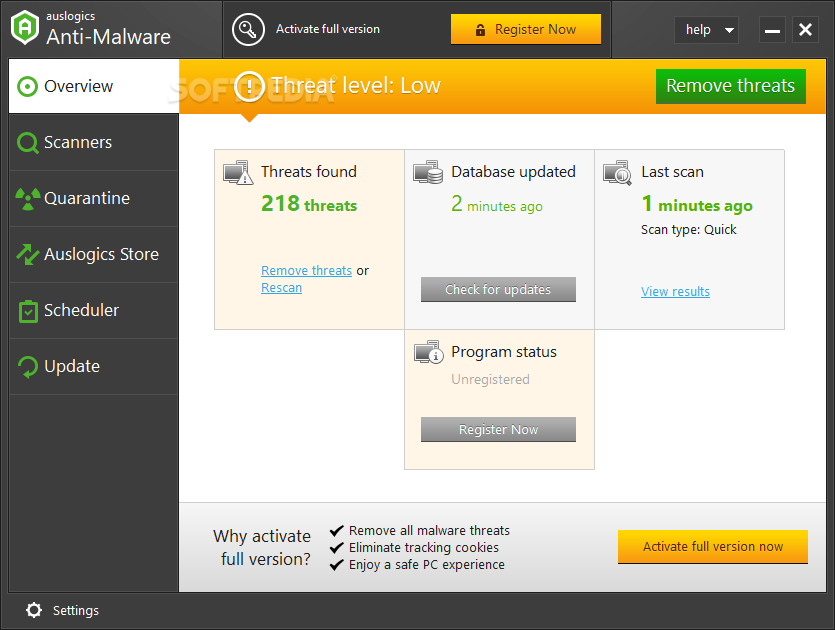 Auslogics Anti-Malware 1.21.0.4 Crack Full Version