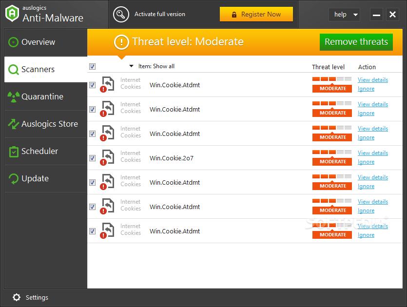 Auslogics Anti-Malware 1.21.0.6 Crack With Serial Key