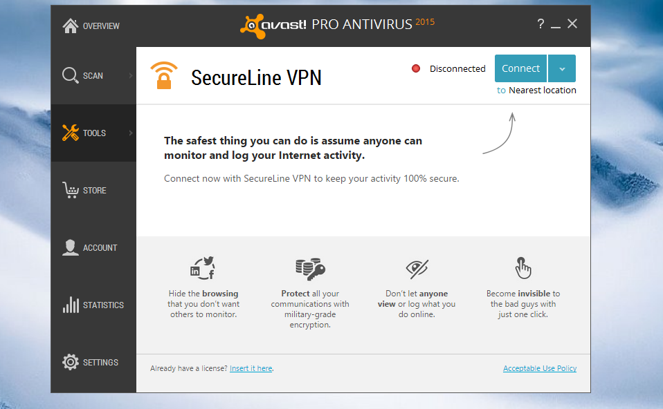 Avast SecureLine VPN 2021 Crack License Key