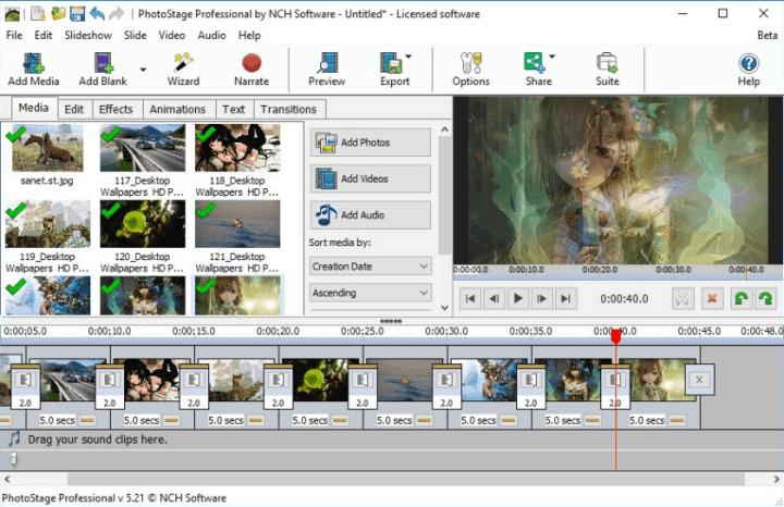 PhotoStage Slideshow Producer Pro 7.39 Crack Serial Key