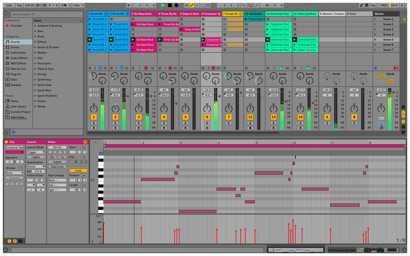 Ableton Live Suite Crack v10.1.30 Serial Key