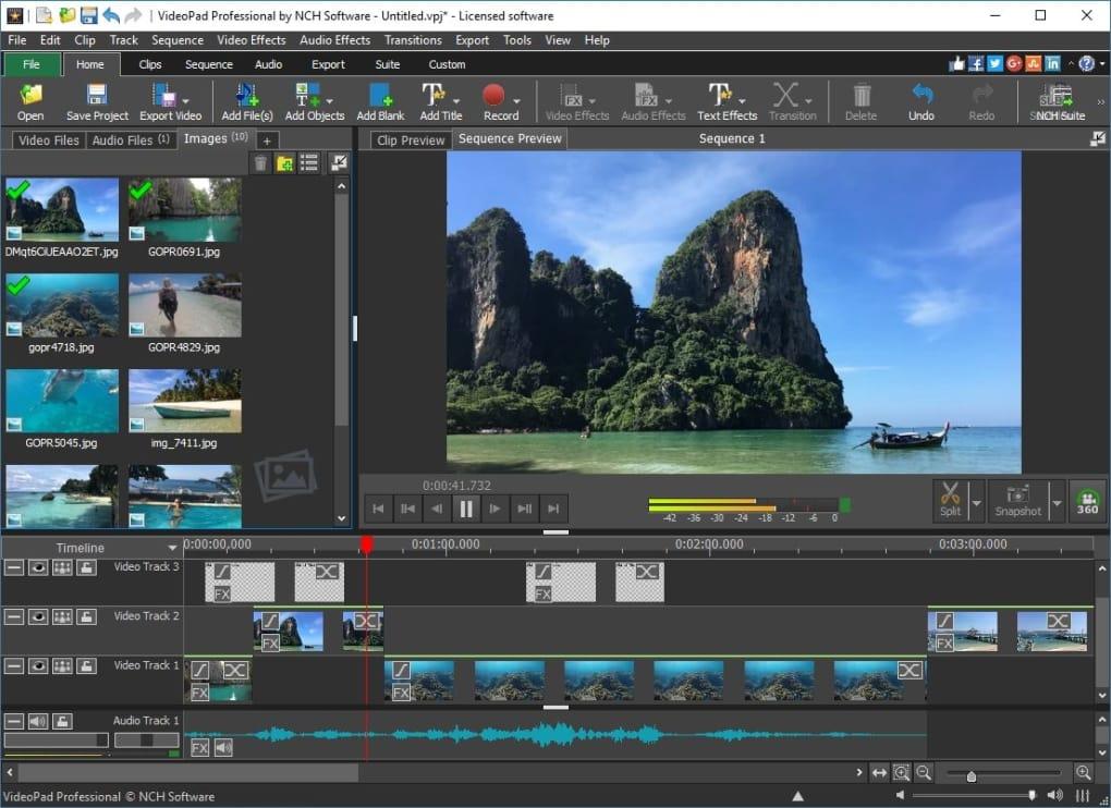 VideoPad Video Editor 10.13 Crack Serial Key