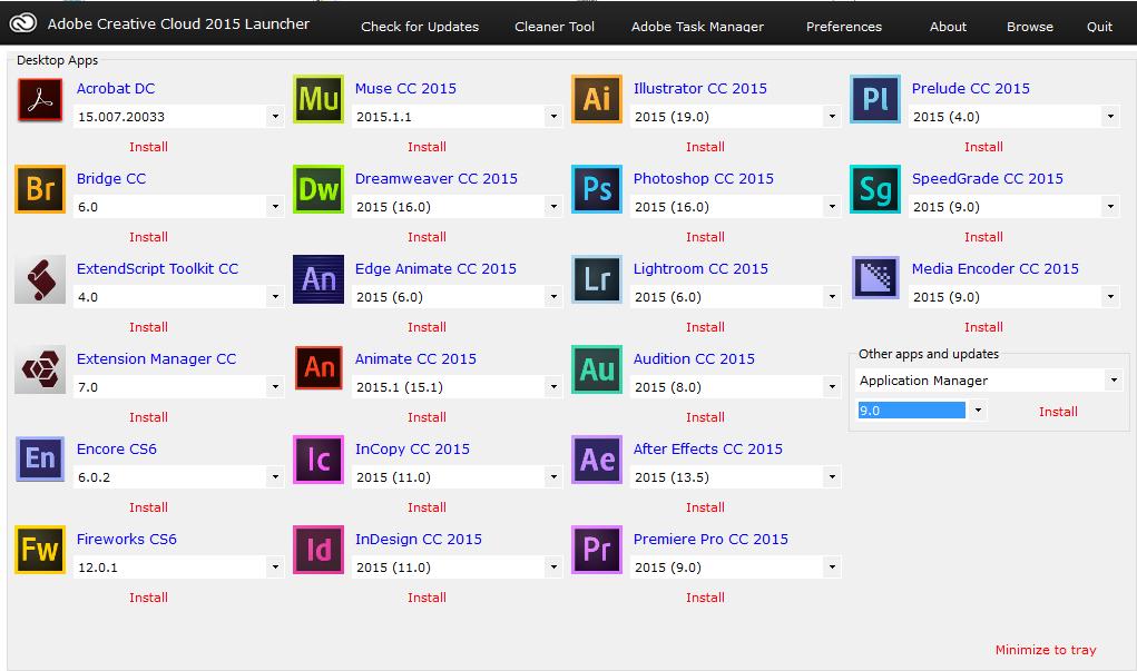 Adobe Creative Cloud Crack 5.4.2.541 Serial Key