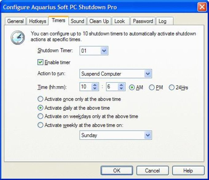PC Auto Shutdown Key 7.1 Crack Serial Key