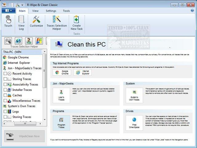 R-Wipe & Clean 20.0 Build 2308 Crack Serial Key