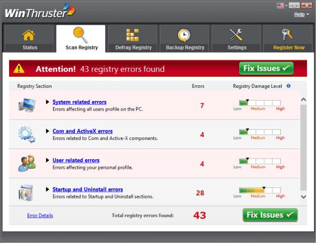 WinThruster 1.80 Crack Serial Key