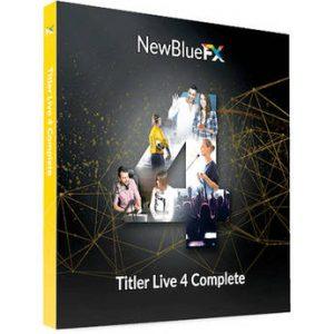 NewBlueFX Titler Pro 7 Ultimate 7.5.210318 Full Crack Latest Here