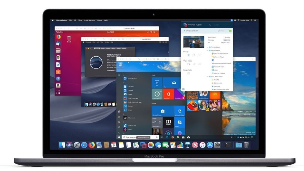 VMware Fusion Pro 12.1.0 Crack With Serial Key