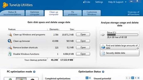 Tuneup Utilities Pro 23 Crack Serial Key Latest